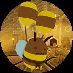 Roblox Tower Heroes - Badge Defeat the Sapphire Bee Queen! [MEDIUM]