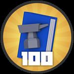 Roblox Treasure Quest - Badge 100 Crafts!