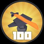 Roblox Treasure Quest - Badge 100 Upgrades!