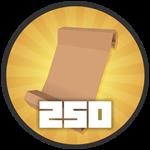 Roblox Treasure Quest - Badge 250 Quests!