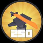 Roblox Treasure Quest - Badge 250 Upgrades!