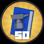 Roblox Treasure Quest - Badge 50 Crafts!