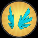 Roblox Treasure Quest - Badge Frozen Wings