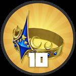 Roblox Treasure Quest - Badge Level 10!