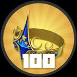 Roblox Treasure Quest - Badge Level 100!