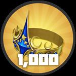 Roblox Treasure Quest - Badge Level 1,000!