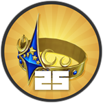Roblox Treasure Quest - Badge Level 25!