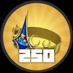 Roblox Treasure Quest - Badge Level 250!