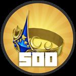 Roblox Treasure Quest - Badge Level 500!