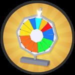 Roblox Treasure Quest - Badge Spin the Prize Wheel!