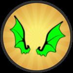 Roblox Treasure Quest - Badge Toxic Wings