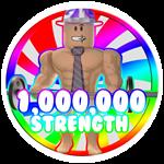 Roblox Weight Lifting Simulator 5 - Badge 1,000,000 Strength