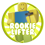 Roblox Weight Lifting Simulator 5 - Badge Rookie Lifter