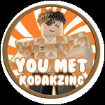 Roblox Weight Lifting Simulator 5 - Badge You met kodakzing