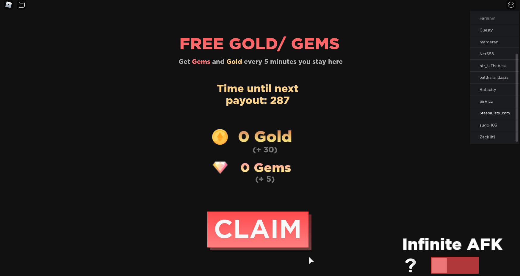 Roblox – Anime Dimensions How to get free Gems and Gold while AFK? 2 - steamlists.com