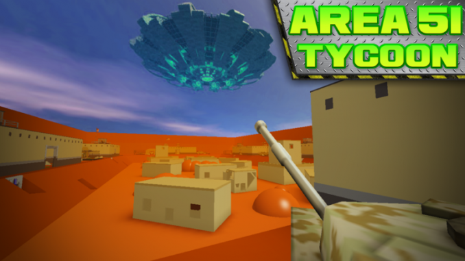 Roblox – Area 51 Tycoon Codes (June 2021) 1 - steamlists.com