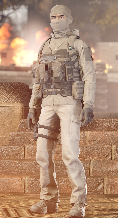 Insurgency: Sandstorm - All Outfits Guide - Camouflage & Cosmetics Information