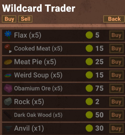 Muck - New Patch Update - All Traders Camp Guide Information