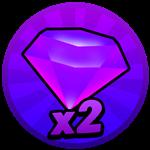 Roblox Axe Champions - Shop Item x2 Gems