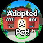 Roblox Bakery Simulator - Badge Adopted a Pet!