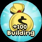 Roblox Billionaire Simulator - Shop Item +100 Starting Buildings