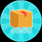 Roblox Candy Clicking Simulator - Shop Item +250 Inventory