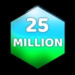 Roblox Case Clicker - Badge 25 Million Value