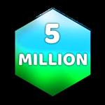 Roblox Case Clicker - Badge 5 Million Value