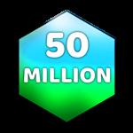 Roblox Case Clicker - Badge 50 Million Value