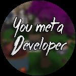Roblox Case Clicker - Badge You met a Developer