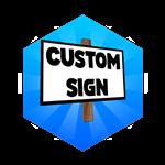 Roblox Case Clicker - Shop Item Custom Sign