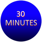 Roblox Clicker Frenzy - Badge 30 Minute Badge