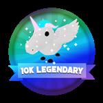 Roblox Elemental Legends - Badge 10,000th Legendary Hatched