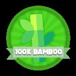 Roblox Elemental Legends - Badge 100K Total Bamboo