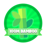 Roblox Elemental Legends - Badge 100M Total Bamboo