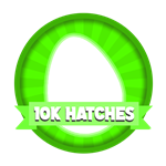 Roblox Elemental Legends - Badge 10K Eggs Hatched
