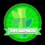 Roblox Elemental Legends - Badge 10M Total Bamboo