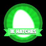 Roblox Elemental Legends - Badge 1K Eggs Hatched