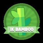 Roblox Elemental Legends - Badge 1K Total Bamboo