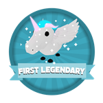 Roblox Elemental Legends - Badge First Legendary Hatched