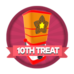Roblox Elemental Legends - Badge You claimed your 10th treat dispenser