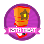 Roblox Elemental Legends - Badge You claimed your 125th treat dispenser