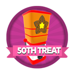 Roblox Elemental Legends - Badge You claimed your 50th treat dispenser