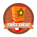 Roblox Elemental Legends - Badge You claimed your first treat dispenser