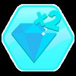 Roblox Elemental Legends - Shop Item Double Diamonds