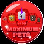 Roblox Genius Simulator - Shop Item +100 Maximum Pets