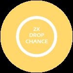Roblox Heros World - Shop Item 2x Boss Drop Chance