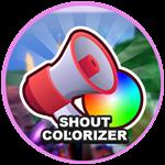 Roblox Miners Haven - Shop Item Shout Colorizer