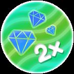Roblox My Chicken Farm - Shop Item Double Diamonds