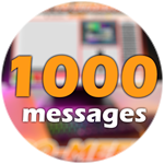 Roblox Ro-Meet - Badge 1000 Messages!